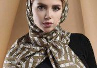 مدل روسری مجلسی جذاب و فوق العاده