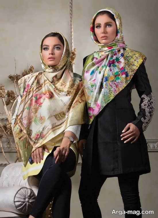 مدل روسری مد سال مجلسی