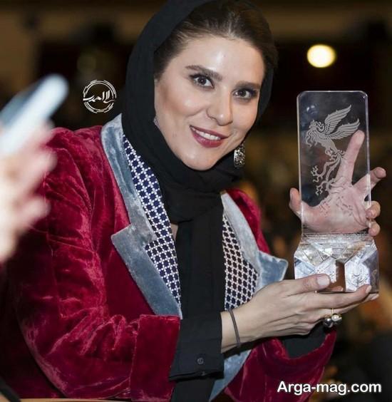 سحر دولتشاهی در اختتامیه جشنواره فجر 96