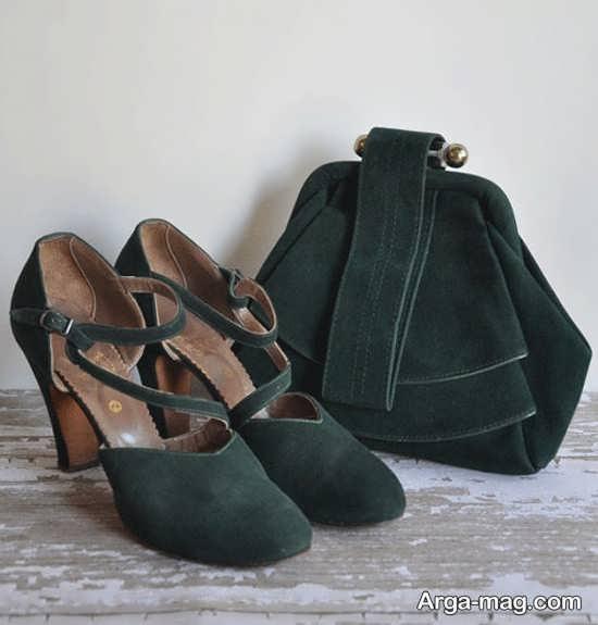 کیف و کفش مجلسی خوش رنگ