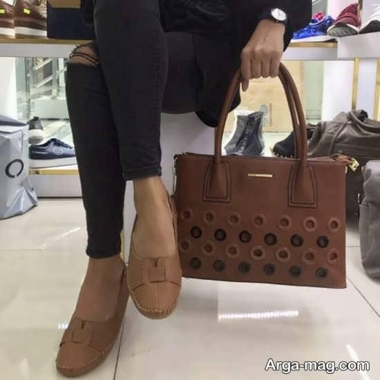 کیف و کفش ساده و جذاب