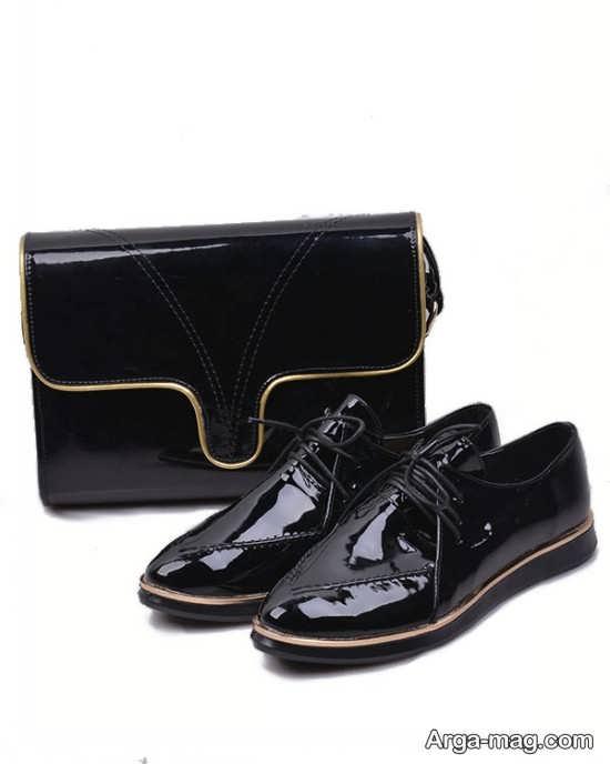 کیف و کفش زنانه ورنی شیک
