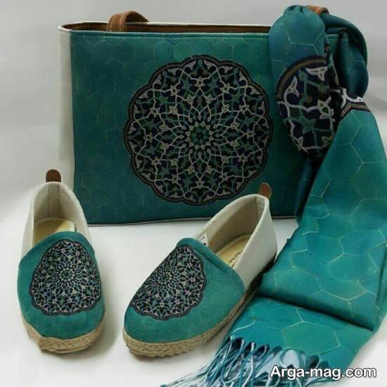 کیف و کفش ست سنتی