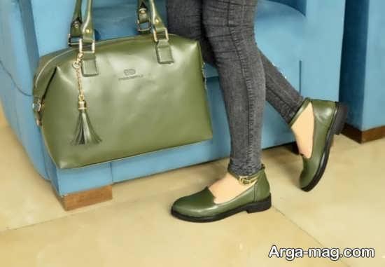 مدل ست کیف و کفش زنانه