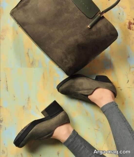 کیف و کفش ست مخمل