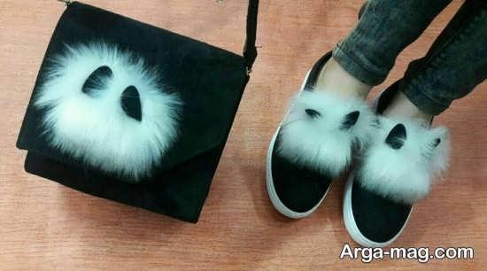 کیف و کفش با طرح جالب