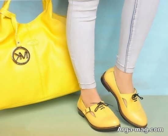 مدل دخترانه کیف و کفش ست