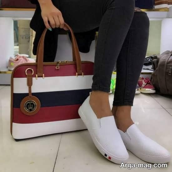 مدل دانشجویی کیف و کفش