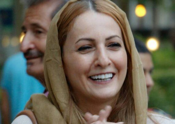 شقایق دهقان و همسرش در سینما ملت
