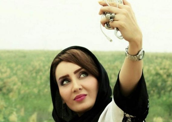 انتشار عکس های شخصی سولماز حصاری