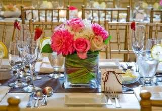 طراحی ایده آل و جذاب میز شام عروسی