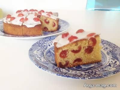 طرز تهیه کیک آلبالو خوش طعم و خوش پخت