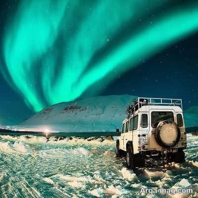 شفق های زیبای قطب