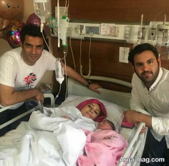 یکتا ناصر در بیمارستان