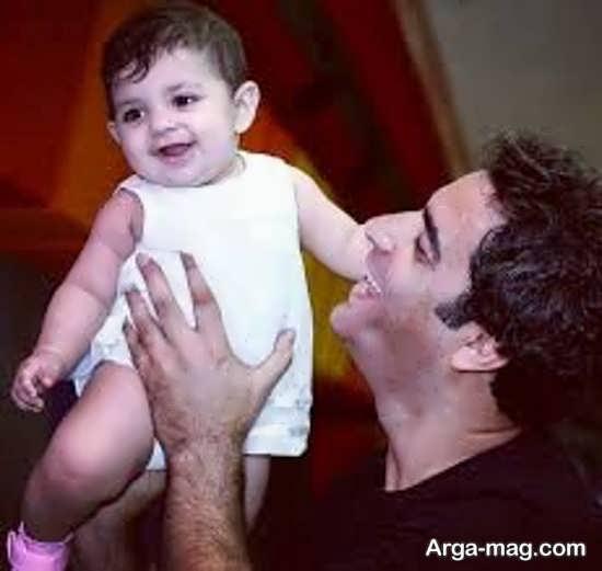 بچه منوچهر هادی و یکتا ناصر