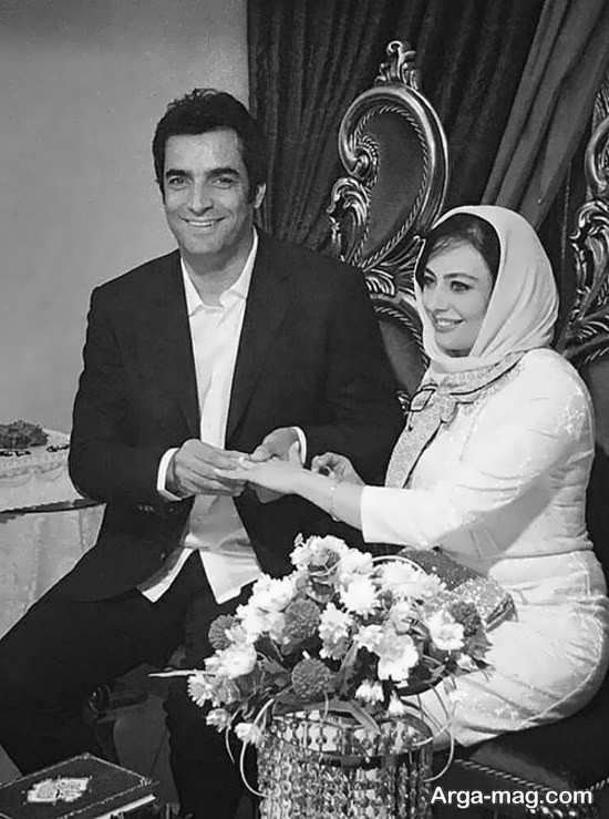 یکتا ناصر و شوهرش