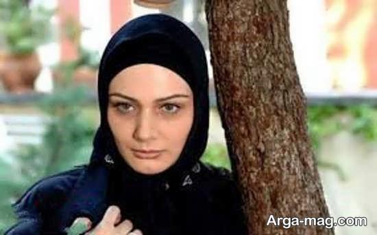 هنرمند ایرانی مرجان محتشم