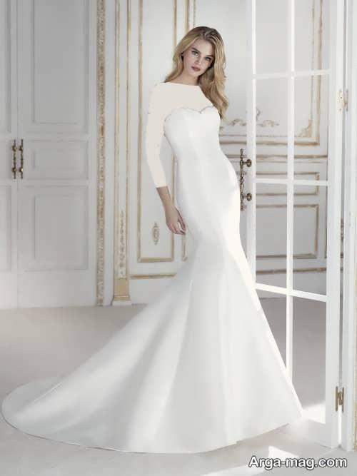 مدل لباس عروس 97 ساده