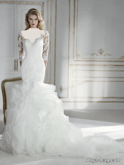 مدل لباس عروس 97 پوشیده و شیک