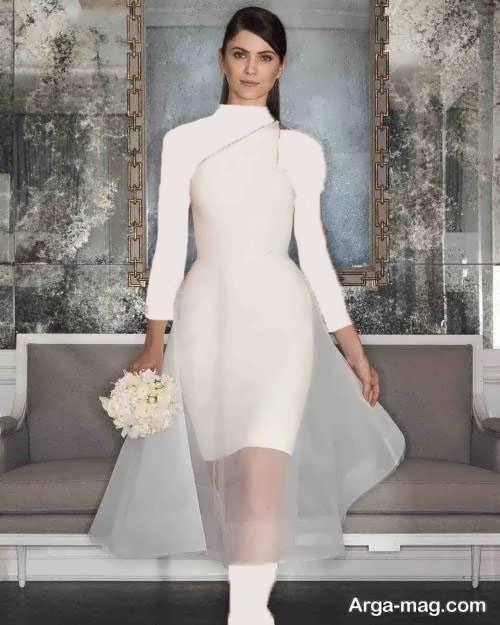 لباس عروس کوتاه 97