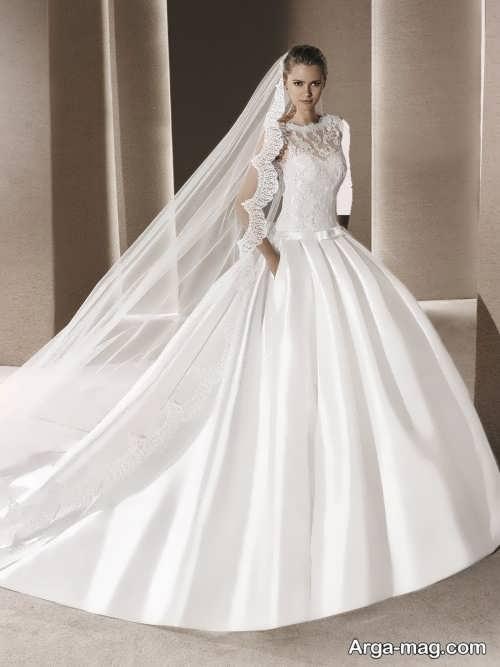 مدل لباس عروس ساده و زیبا 97