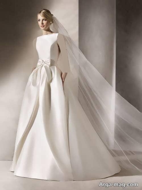 مدل لباس عروس ساده و زیبا