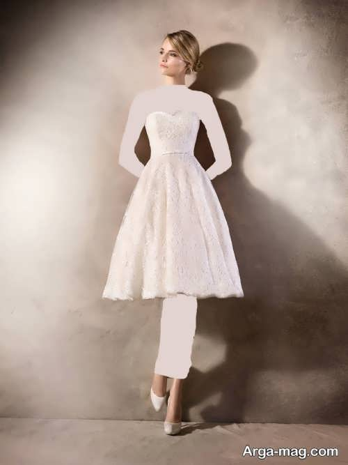 مدل لباس عروس کوتاه و زیبا