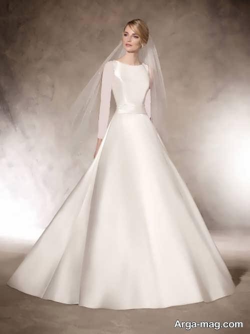 مدل لباس عروس ساده 97
