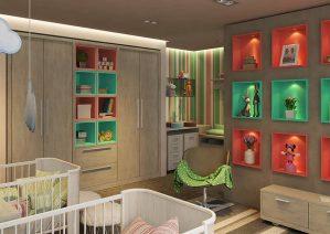روش های خلاقانه برای تزیین اتاق کودک