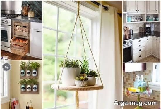 تصاویری از تزیینات خلاقانه در آشپز خانه