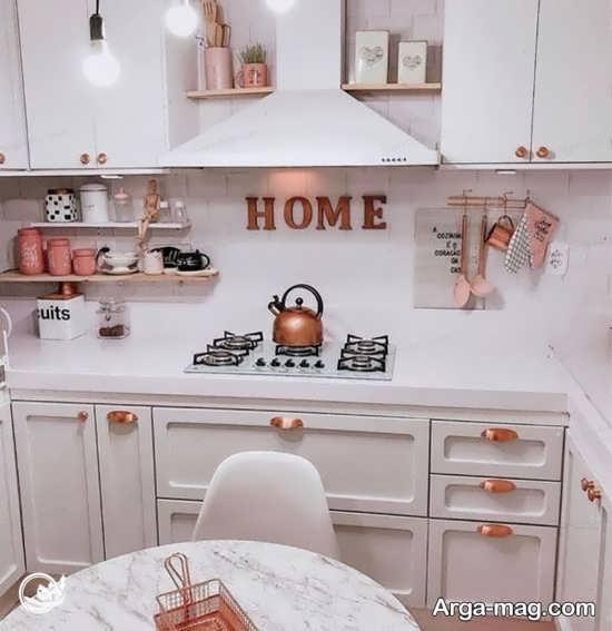 خلاقیت شیک و جدید در آشپز خانه