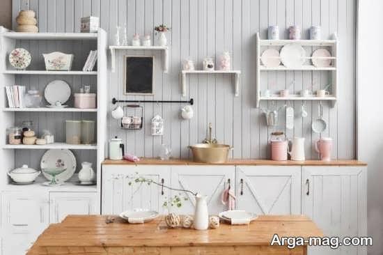 تزئینات خلاقانه و جذاب در آشپزخانه