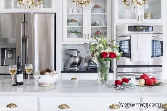 تزئینات خلاقانه و جدید در آشپزخانه