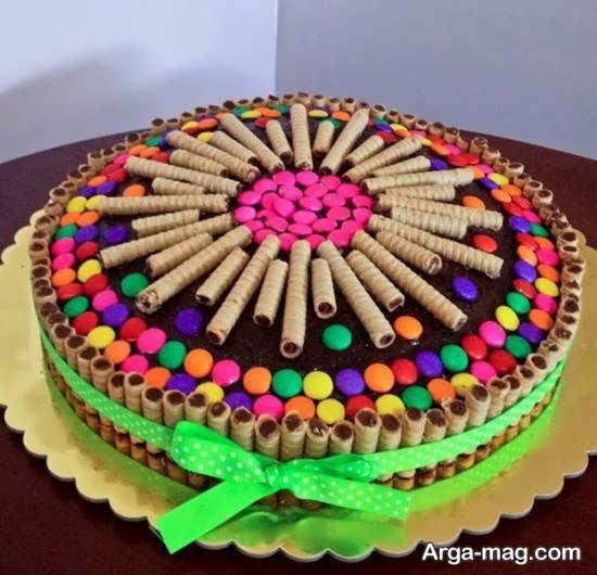 دیزاین جالب کیک بدون خامه