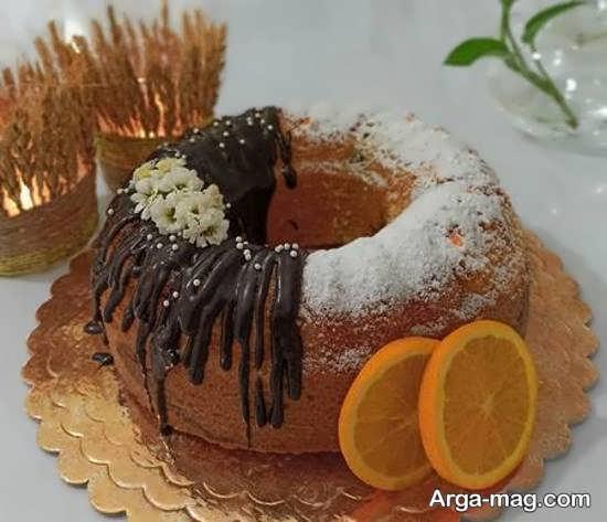 جالب ترین تزیین کیک بدون خامه