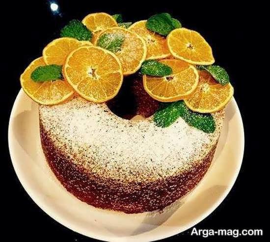 دیزاین کیک بدون خامه با طرح خاص