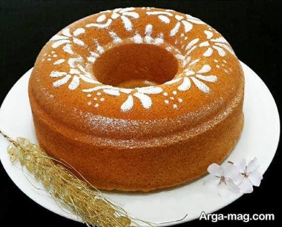 قشنگ ترین تزیین کیک بدون خامه
