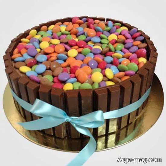 دیزاین هنرمندانه کیک بدون خامه