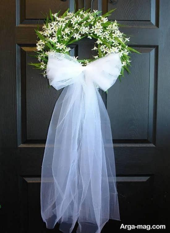 جدیدترین تزیین درب اتاق عروس