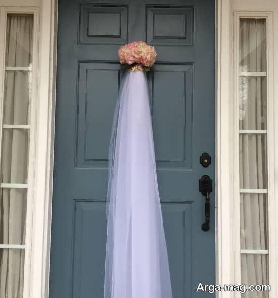 دیزاین تماشایی درب اتاق عروس
