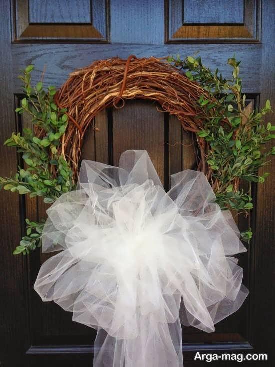 تزیینات درب اتاق عروس با ایده زیبا