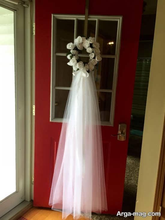 خاص ترین تزیین درب اتاق عروس