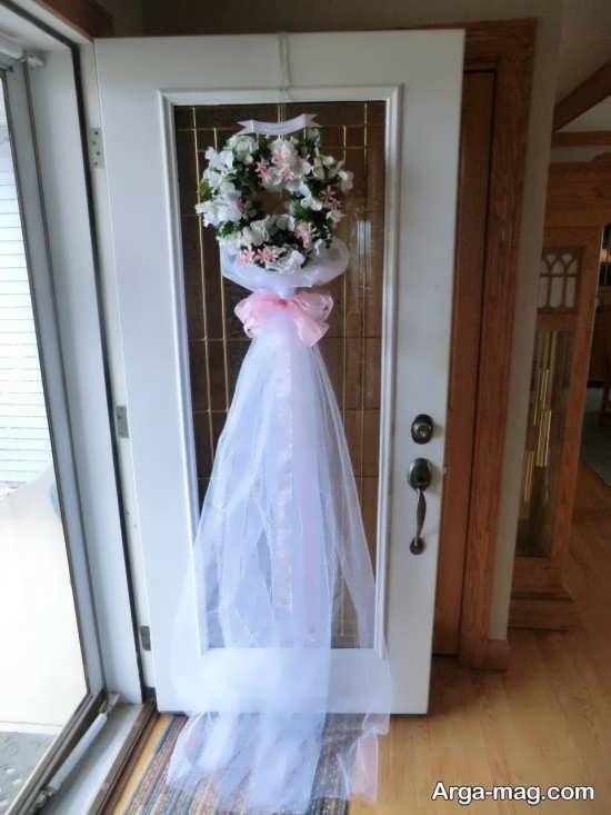 به روز ترین تزیین درب اتاق عروس