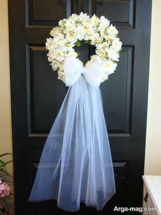 دیزاین عالی درب اتاق عروس