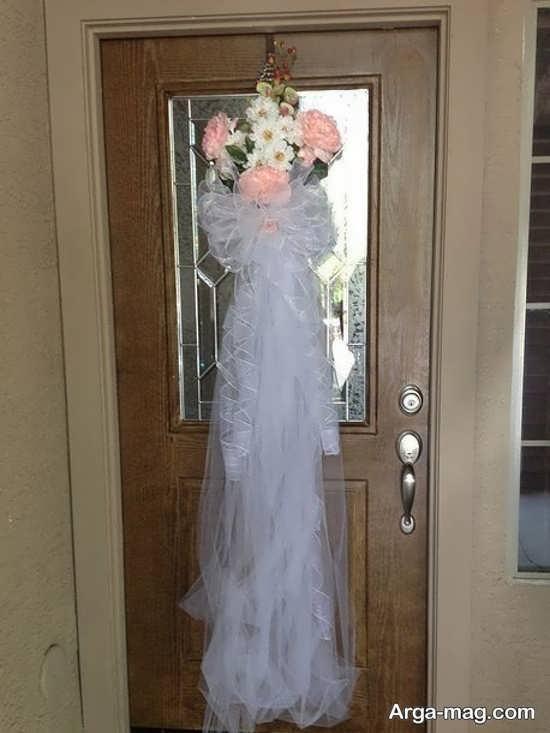 دیزاین ایده آل درب اتاق عروس