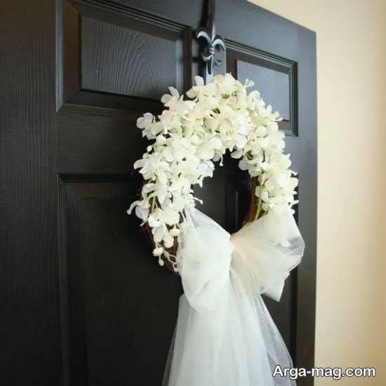 دیزاین منحصر به فرد درب اتاق عروس