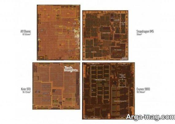 تفاوت تراشه های نسل جدید هواوی، کوالکام، سامسونگ و اپل