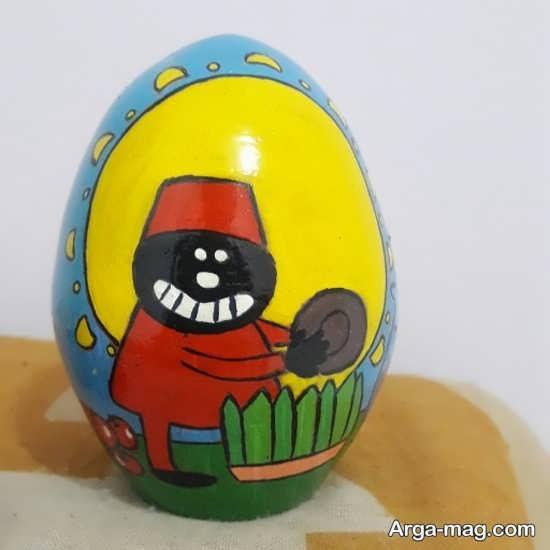 نقاشی قشنگ تخم مرغ هفت سین
