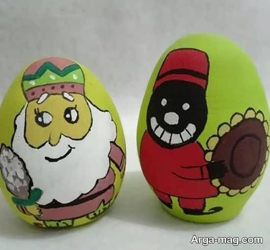 عالی ترین رنگ آمیزی تخم مرغ