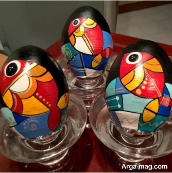 نقاشی جدید تخم مرغ هفت سین